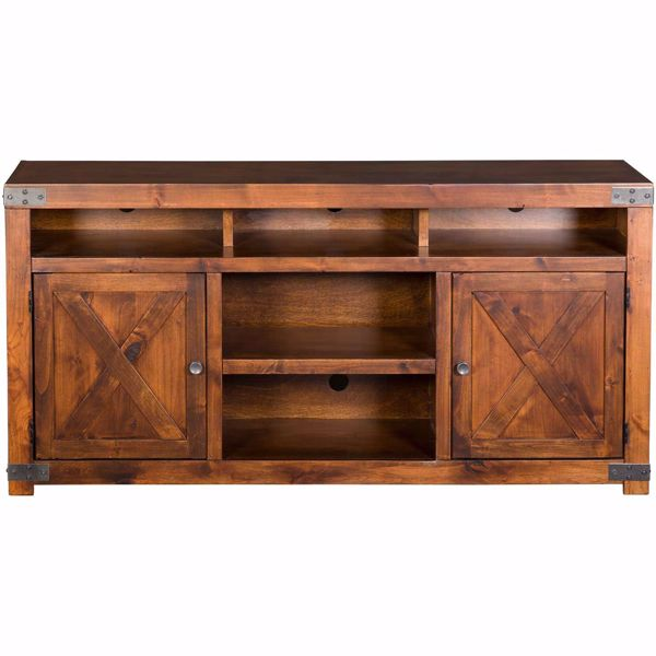 """Picture of Urban Farmhouse 65"""" TV Console, Fruitwood"""