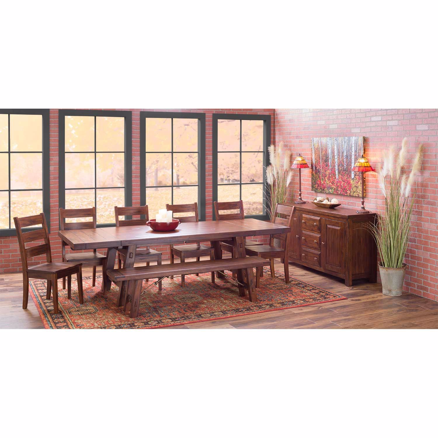Picture of Tuscany 8 Piece Dining Set