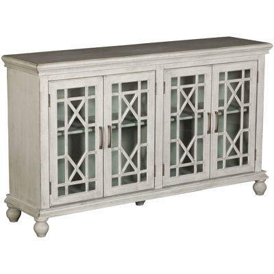 Picture of Gray Four Door Cabinet