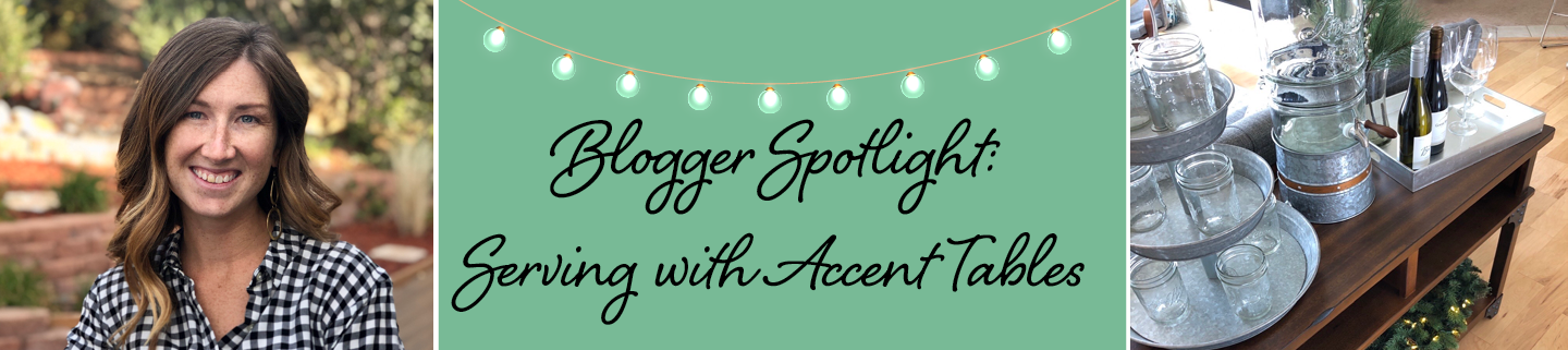 Blogger Spotlight | Jaimi Stewart Serving Tables