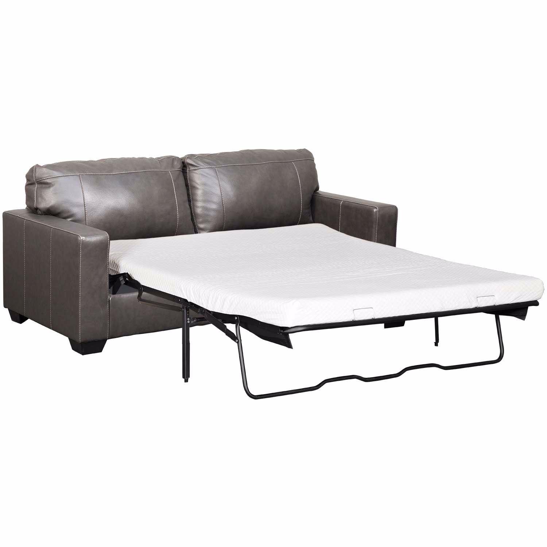Morelos Gray Italian Leather Queen Sleeper Sofa 3450339 ...