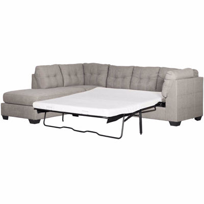 Picture of Maier Charcoal 2 Piece Sleeper Sectional with LAF Chaise