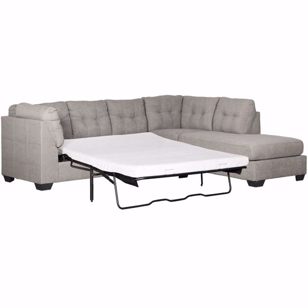 Maier Charcoal 2 Piece Sleeper, Ashley Furniture Sectional Sofa Bed