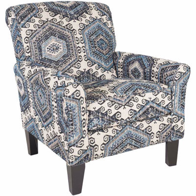 Picture of Bellamy Indigo Accent Chair