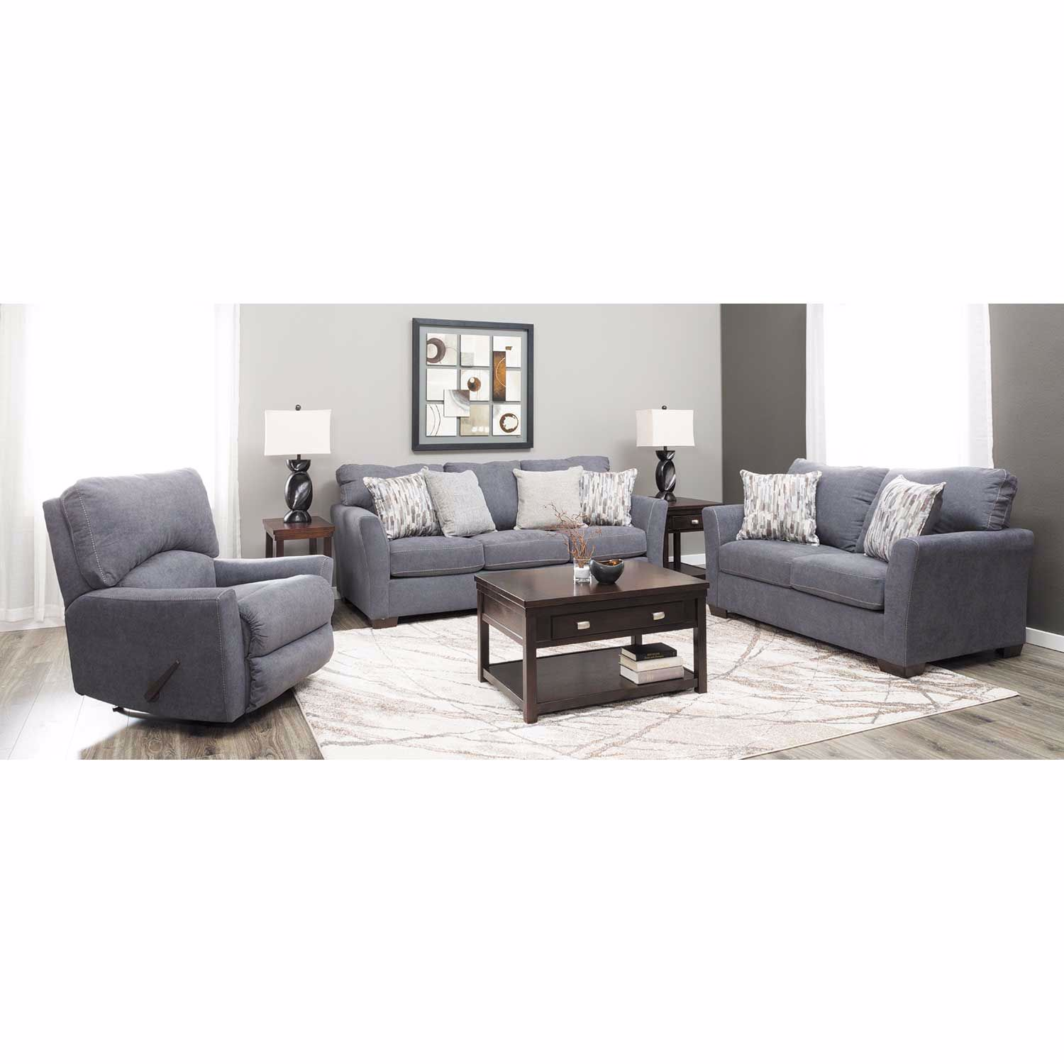 Picture of Pacific Blue Rocker Recliner