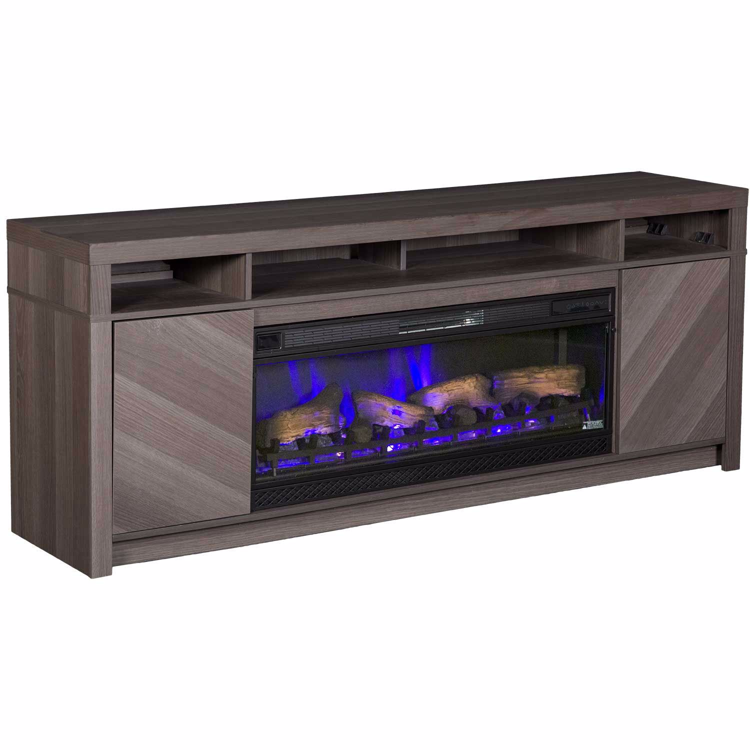 "Picture of Morado Bay 42"" Fireplace Driftwood Gray"