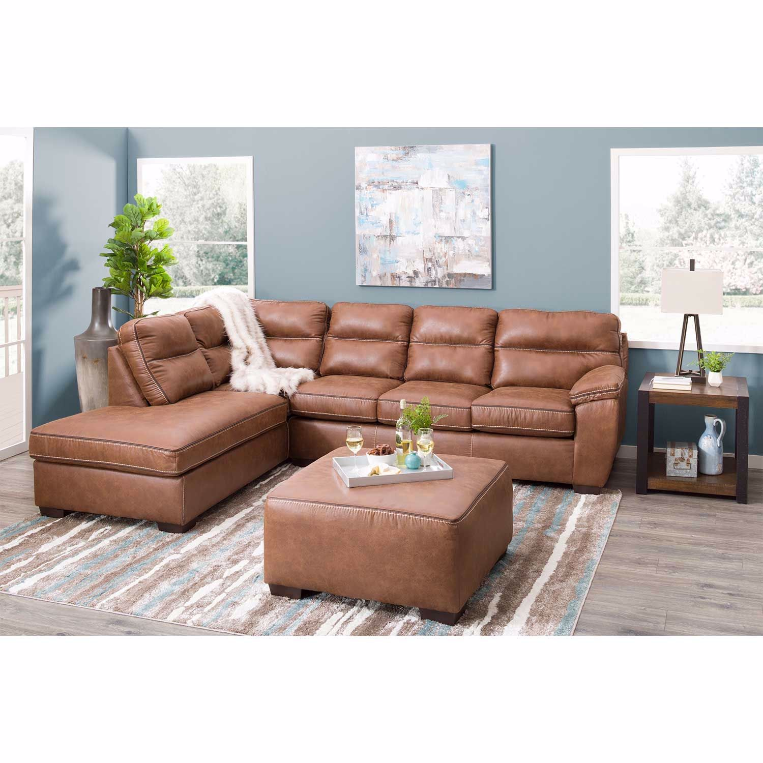 Picture of Wesley 2PC LAF Sofa Sectional