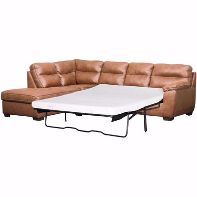Picture of Wesley 2PC RAF Sofa Sectional with Memory Foam Mat