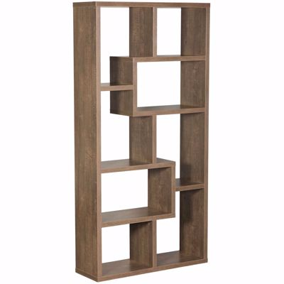 "Picture of Walnut Oak ""Puzzle"" Display Cube"