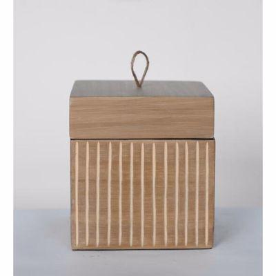 Picture of Tan Square Box