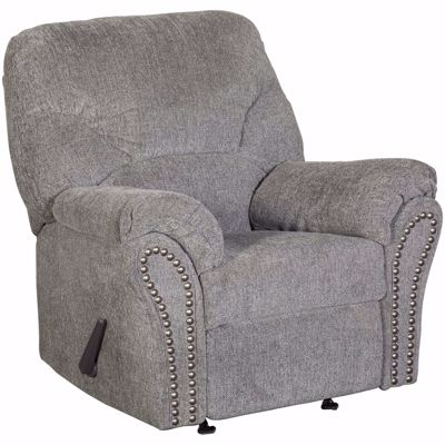Picture of Allmax Pewter Rocker Recliner