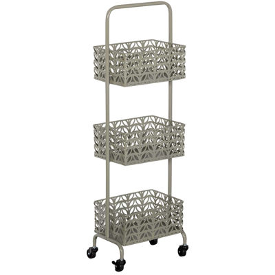 Picture of Grey Three Tier Metal Basket