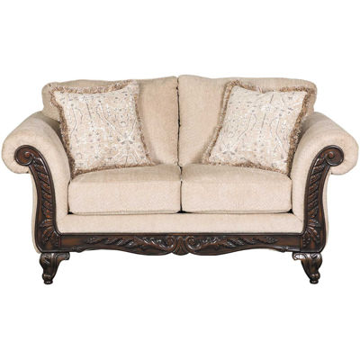 Picture of Emma Wheat Loveseat