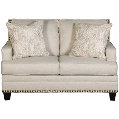 Picture of Claredon Linen Loveseat