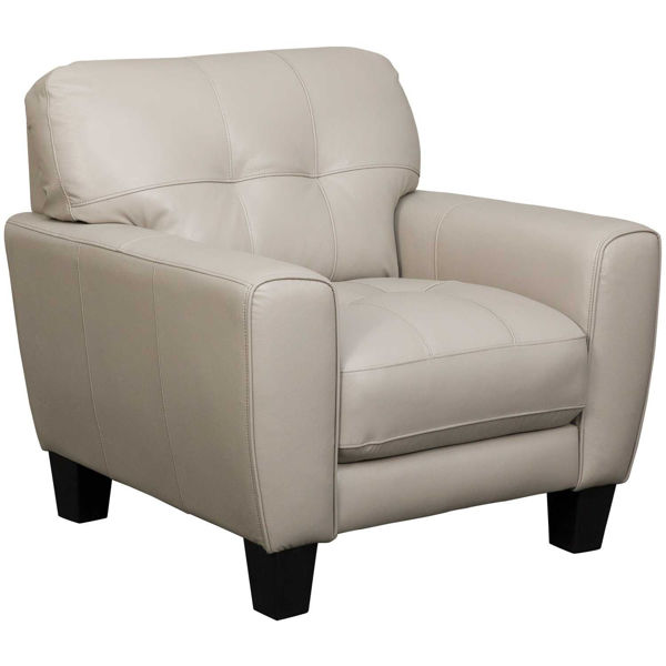 Picture of Aria Taupe Leather Chair
