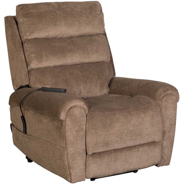 Picture of Ernest Power Lift Chair with Adjustable Headrest and Lumbar