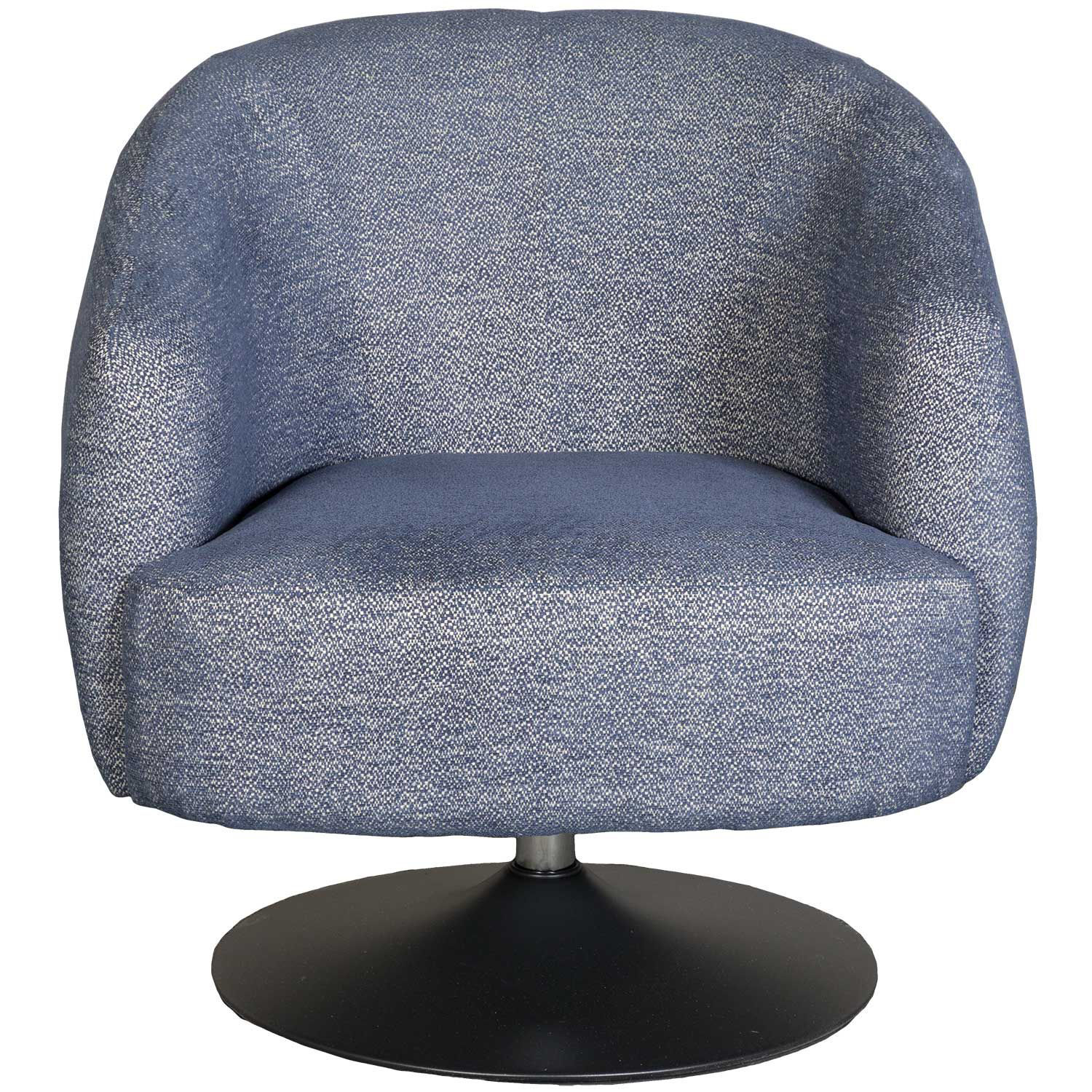 Picture of Saturn Navy Swivel Chair