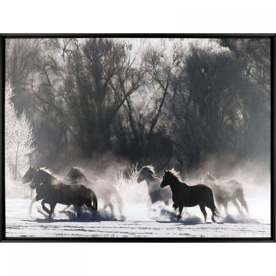 Picture of Rush Hour Horses Wall Decor