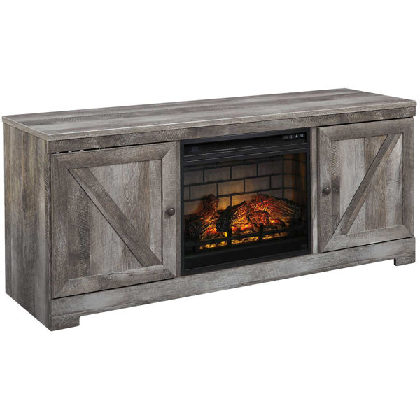 Picture of Wynnlow Fireplace TV Stand