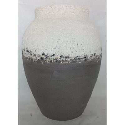 Picture of Grey Stone Textured Vase