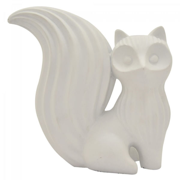 Picture of White Fox Sculpture