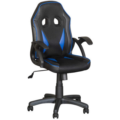 Picture of Black and Blue Office Chair