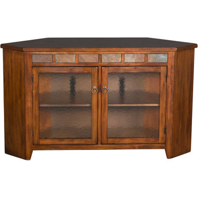 Picture of Santa Fe Dark Chocolate Corner Console
