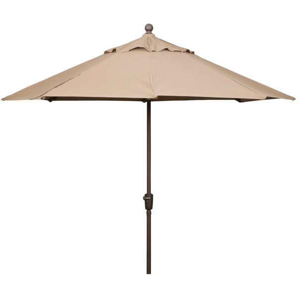 Picture of 9ft Auto Tilt Umbrella Sesame