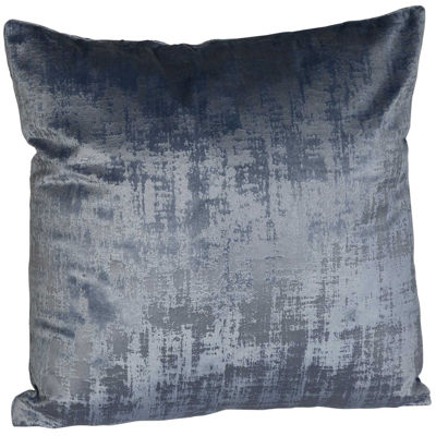 Picture of Cement Mix Blue 18x18 Inch Pillow *P