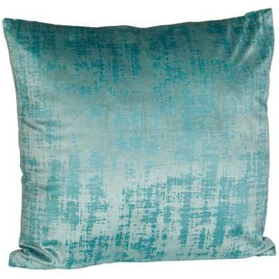 Picture of Cement Mix Teal 18x18 Inch Pillow *P