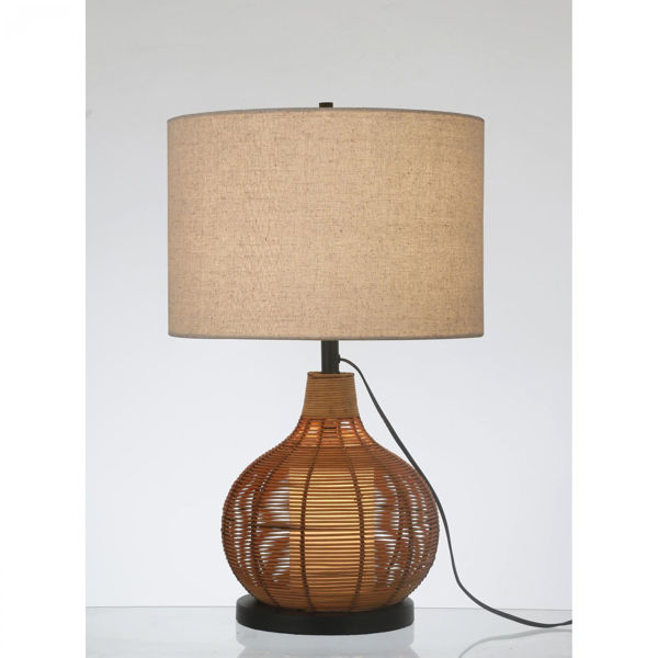 Picture of Paige Woven Reed Table Lamp