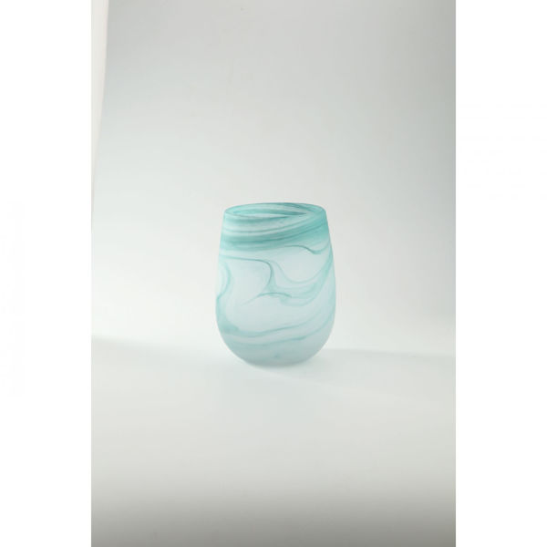 Picture of Soft Blue Glass Vase