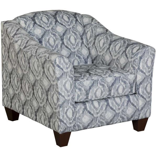 Picture of Melanie Stonewash Accent Chair