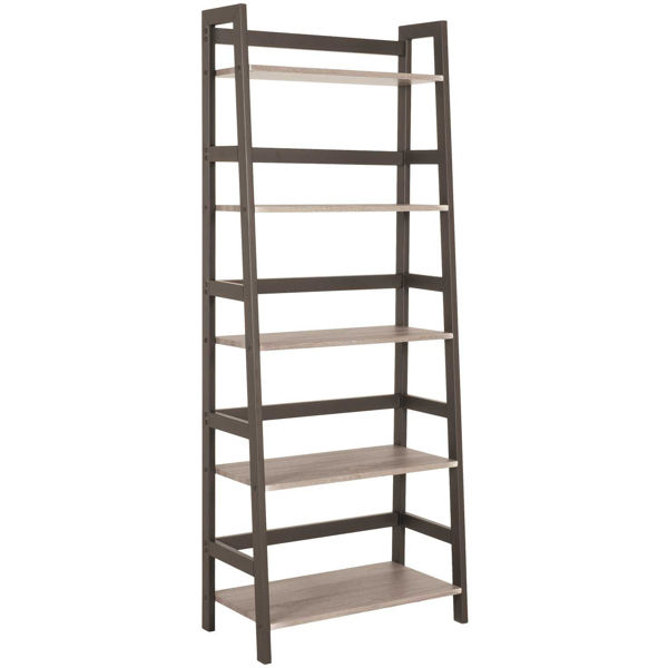 Picture of Clarke Five-Shelf Bookcase