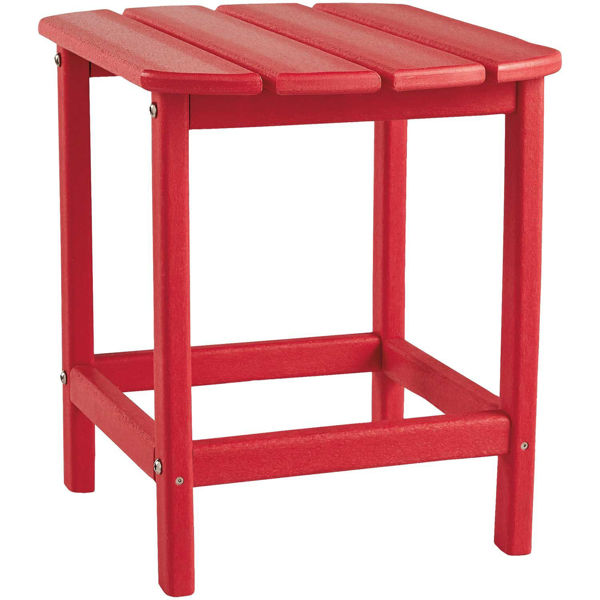 Picture of End Table Red
