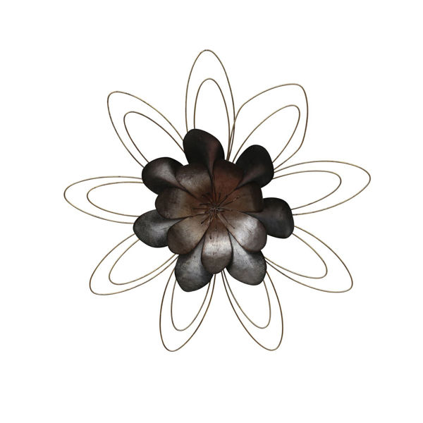 Picture of Metal Flower Wall Decor