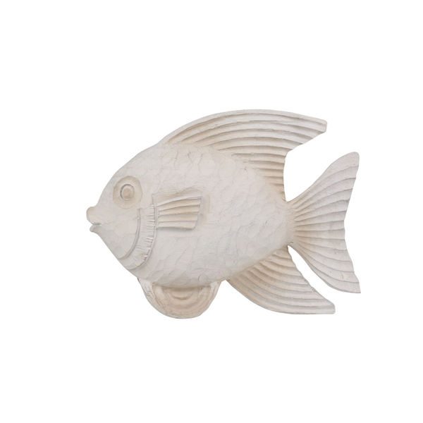 Picture of White Fish Figurine