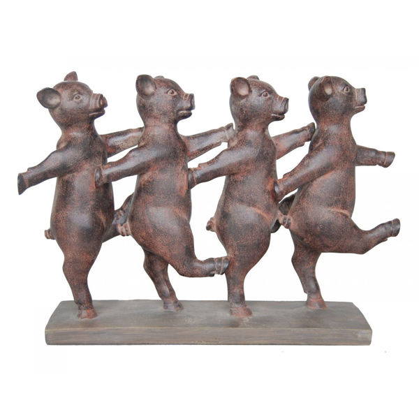 Picture of Dancing Pigs Sculpture