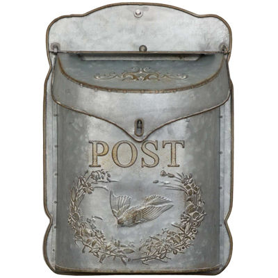 Picture of White Vintage Mailbox