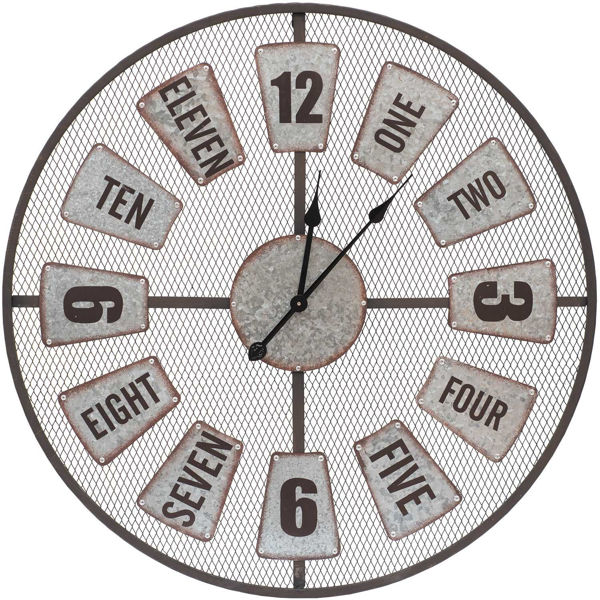 Picture of Industrial Style Wall Clock