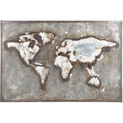 Picture of World In Metal Art