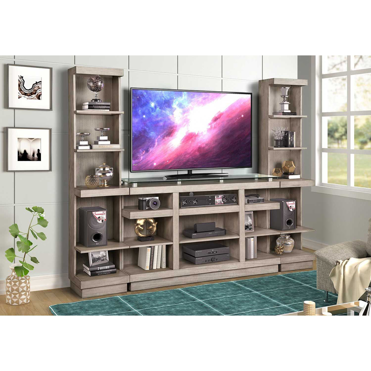"Picture of Celino 65"" TV Cart"