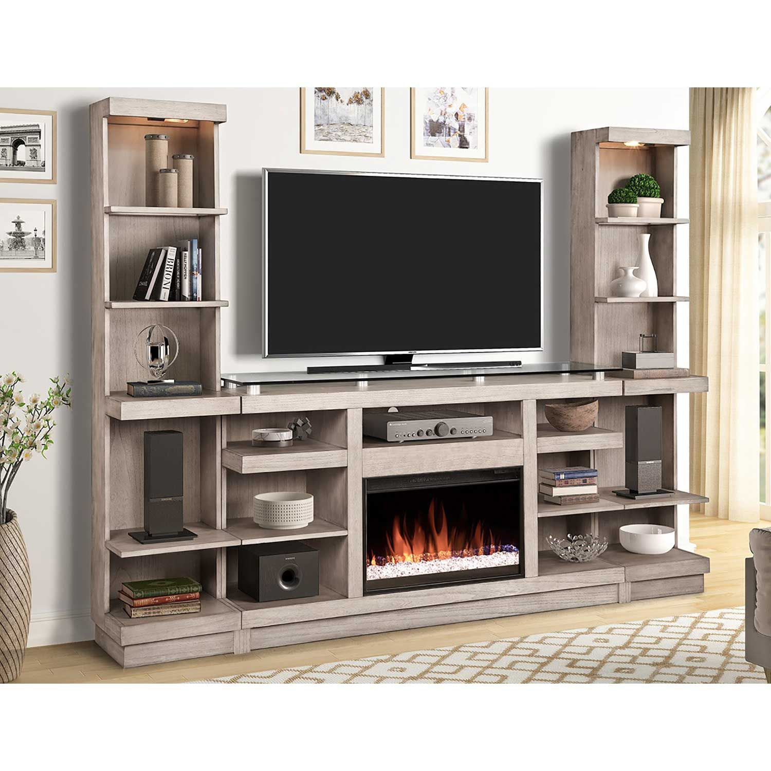 Picture of Celino Fireplace Wall Unit