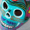 Picture of Aqua Multicolored Skull