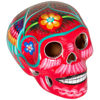 Picture of Red Multicolored Skull