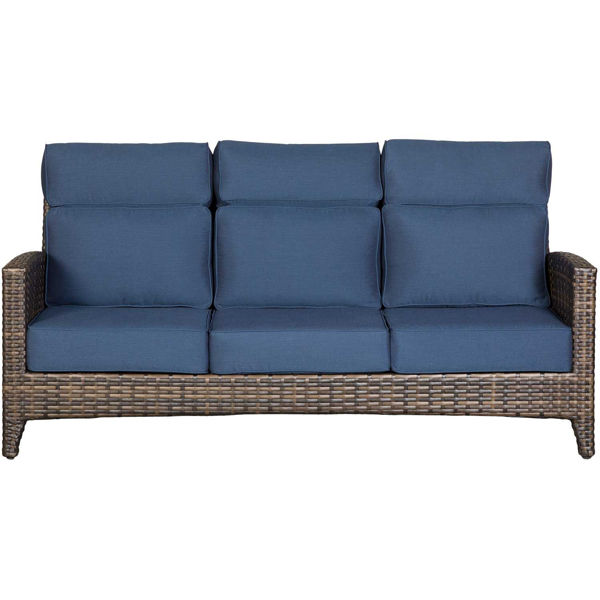 Picture of Grand Palm Sofa with Cushions