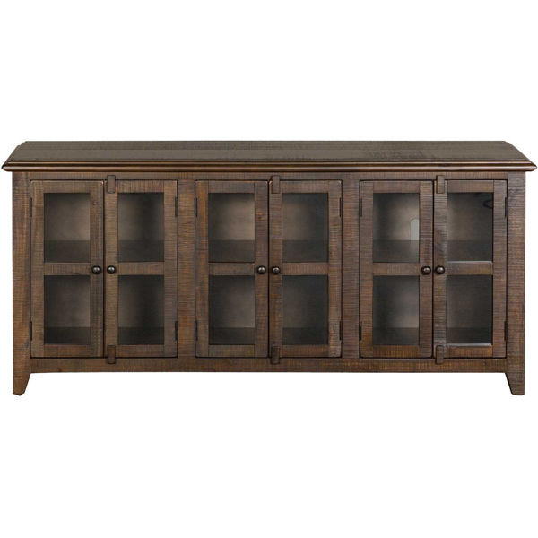 """Picture of Tobacco Leaf 70"""" TV Stand"""