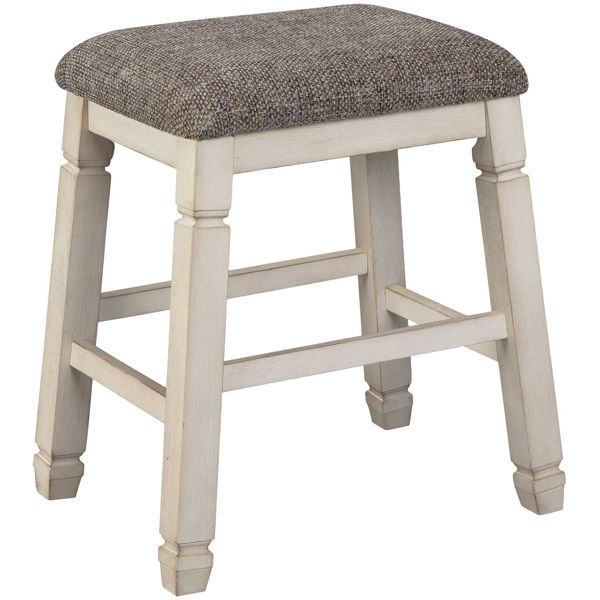 Picture of Bolanburg Upholstered Barstool