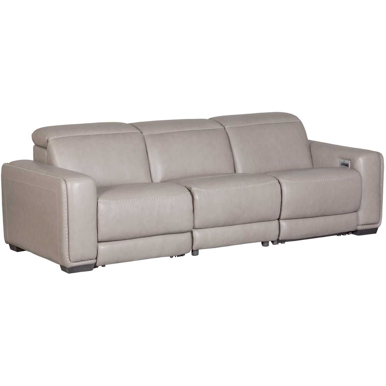 Picture of Correze Leather Power Reclining Sofa with Adjustab