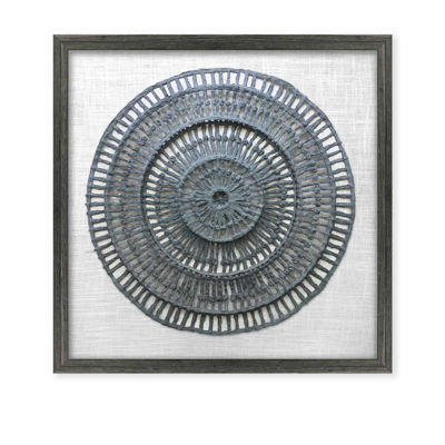 Picture of Framed Grey Paper Art